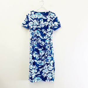 Soft Surroundings Shapely Anywhere Faux Wrap Dress